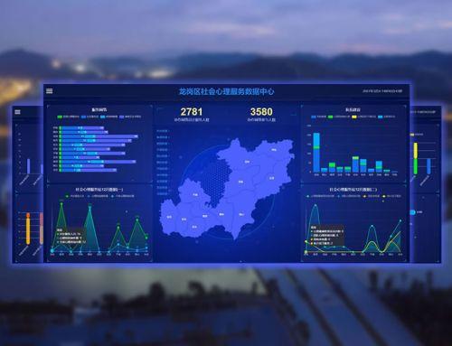 """龙岗""""区街社""""三级社会治理创新服务数据可视化"""